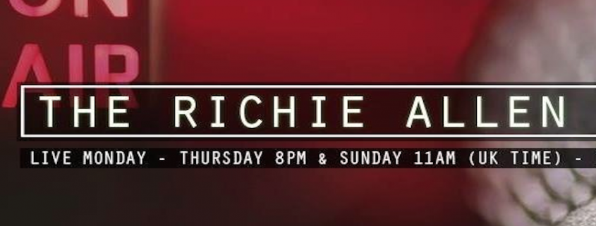 Mark Bajerski on the Richie Allen Radio Show