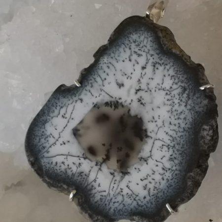 Dendrite Pure Energy Healing Crystal Pendant