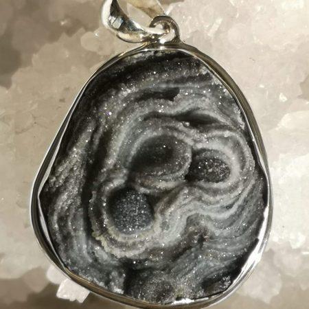 Desert Druzy Pure Energy Healing Crystal Pendant