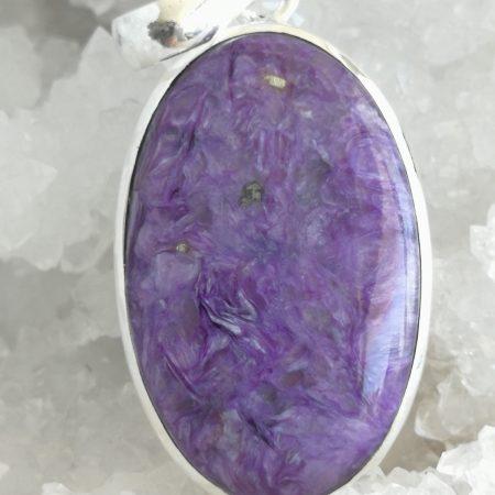 Charoite Pure Energy Healing Crystal Pendant