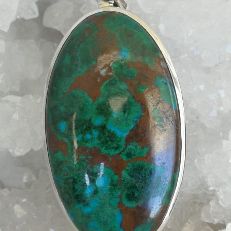 Chrysocolla Pure Energy Healing Crystal Pendant