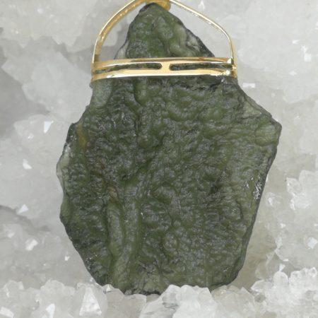 Moldavite Pure Energy Healing Crystal Pendant