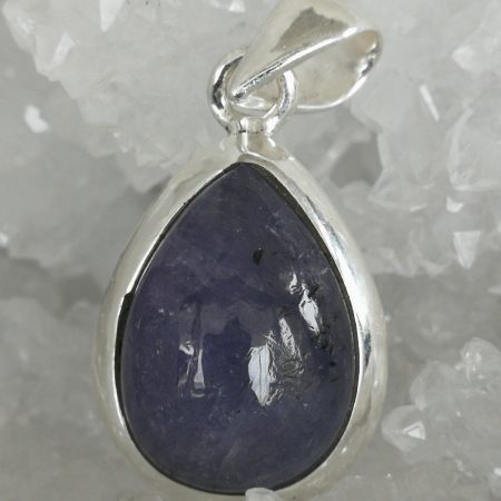 Tanzanite Pure Energy Healing Crystal Pendant