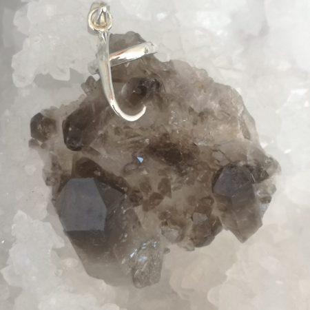 Smokey Quartz Pure Energy Healing Crystal Pendant