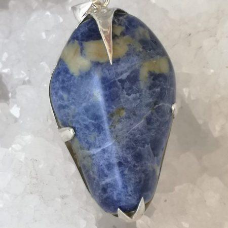 Sodalite Pure Energy Healing Crystal Pendant
