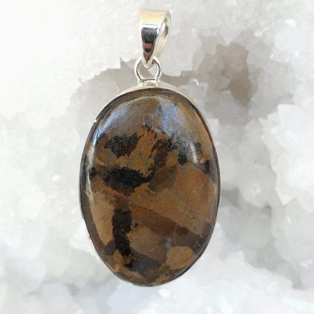 Bronzite Pure Energy Healing Crystal Pendant
