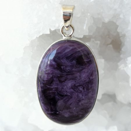 Charoite Pure Energy Healing Crystal Pendant