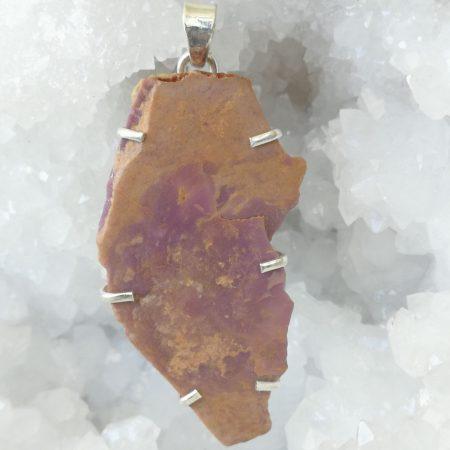 Phosphosiderite Pure Energy Healing Crystal Pendant