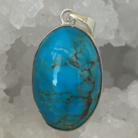Turquoise Pure Energy Healing Crystal Pendant