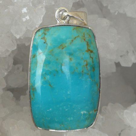 Turquoise Pure Energy Healing Crystal Pendant