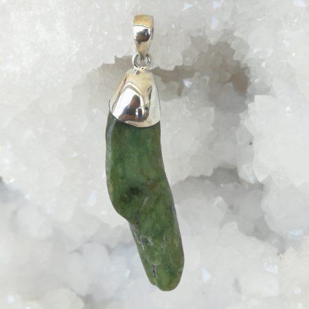 Jade Pure Energy Healing Crystal Pendant