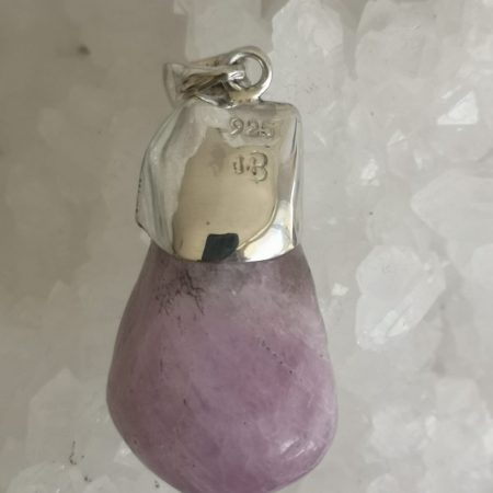 Kunzite Pure Energy Healing Crystal Pendant