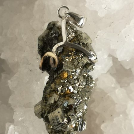 Pyrite Pure Energy Healing Crystal Pendant