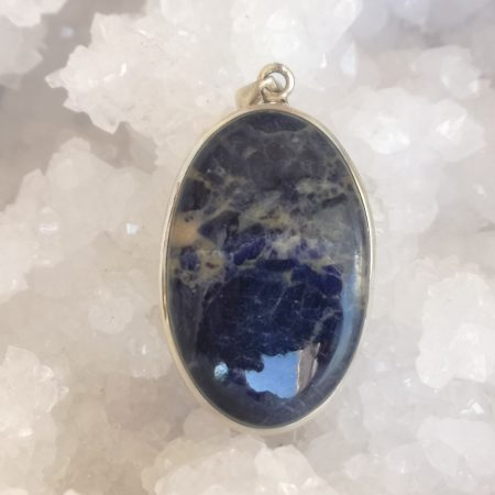 Sodalite Healing Crystal Pendant