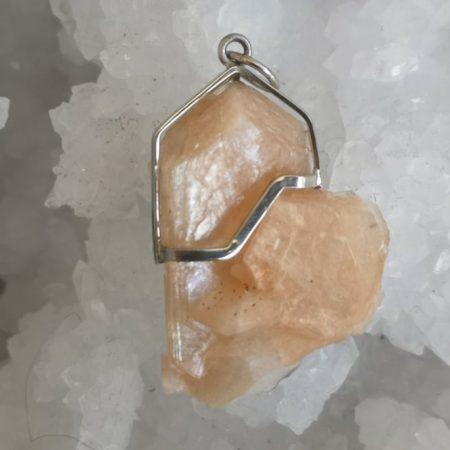 Apophyllite Healing Crystal Pendant