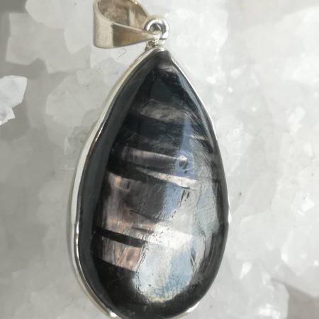 Hypersthene Healing Crystal Pendant