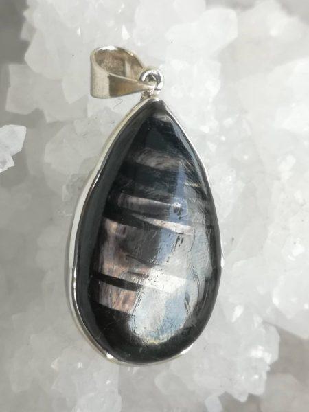 Hypersthene Healing Crystal Pendant