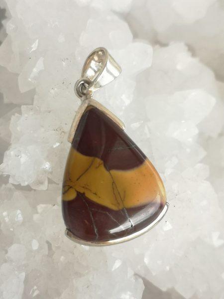 Mookaite Healing Crystal Pendant