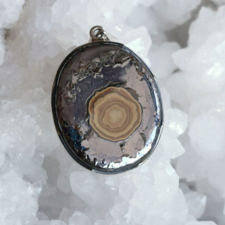 Schalenblende Healing Crystal Pendant