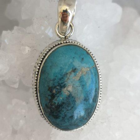 Turquoise Healing Crystal Pendant