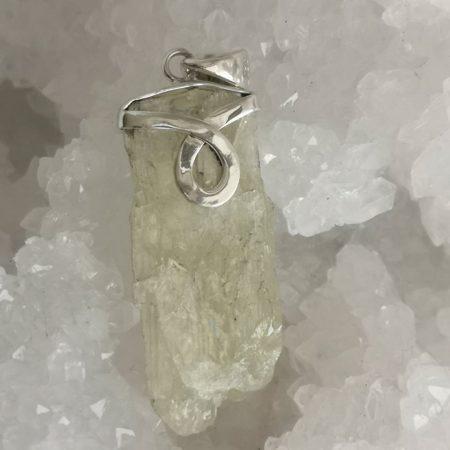 High Quality Beryl Healing Crystal Pendant design by Mark Bajerski