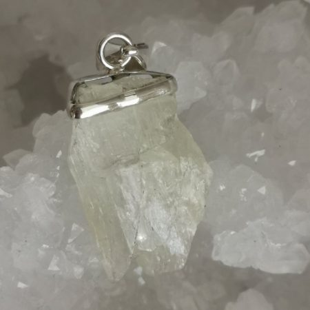High Quality Beryl Healing Crystal Pendant design by Mark Bajerski