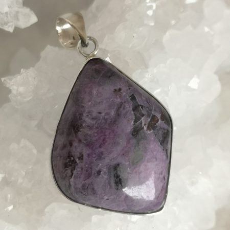 Charoite Healing Crystal Pendant design by Mark Bajerski
