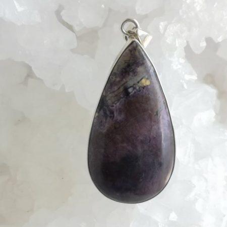 Tiffany Healing Crystal Pendant