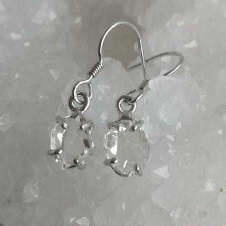 Herkimer Diamond Healing Crystal Earrings