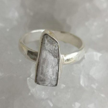 Rose Quartz Healing Crystal Ring US size 7