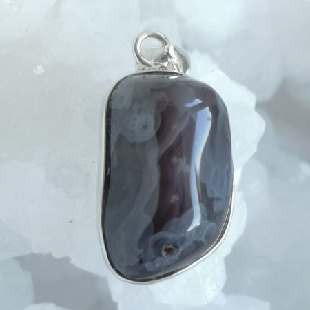 Agate Healing Crystal Pendant design by Mark Bajerski