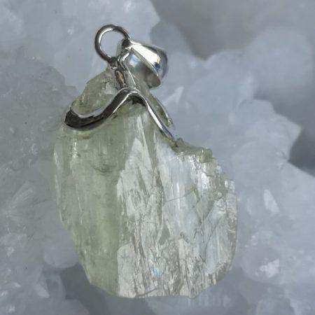 High Quality, Rare Beryl Healing Crystal Pendant design by Mark Bajerski