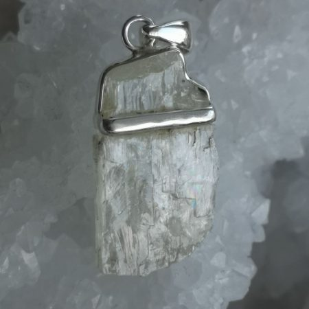 High Quality, Rare Beryl Healing Crystal Pendant design by Mark Bajerski