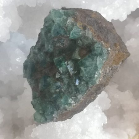 Diana Maria Fluorite Healing Crystal for hand and home