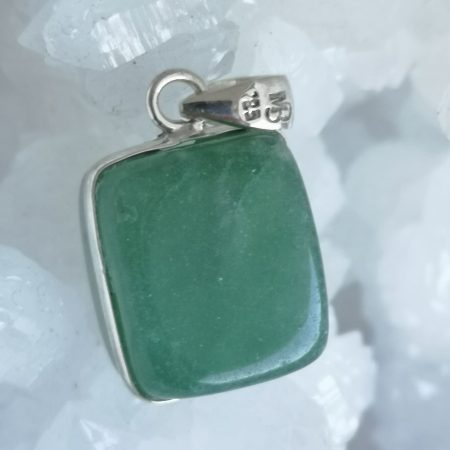 Green Agate Healing Crystal Pendant design by Mark Bajerski