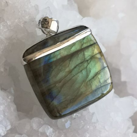 High Quality Labradorite Healing Crystal Pendant design by Mark Bajerski