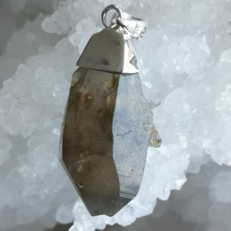 Smokey Quartz Healing Crystal Pendant design by Mark Bajerski