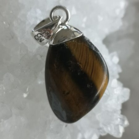 Tigers Eye Healing Crystal Pendant design by Mark Bajerski