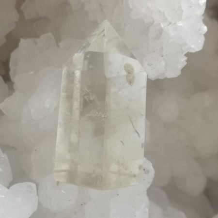Clear Quartz Pointer Healing Crystal for hand and home