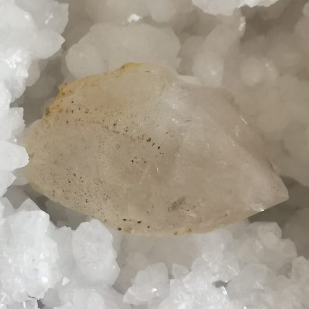Clear Quartz Hand and Home Healing Crystal