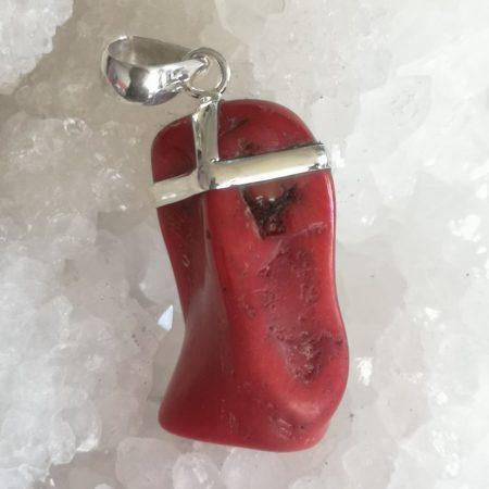 Coral Healing Crystal pendant design by Mark Bajerski