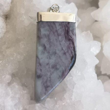 Kammererite Healing Crystal Pendant design by Mark Bajerski