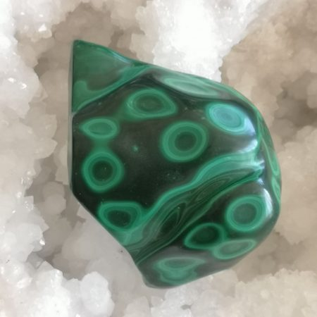 Malachite Hand and Home Healing Crystal