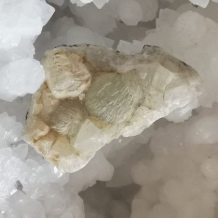 Prehnite Hand and Home Healing Crystal
