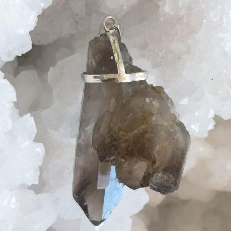 High Quality Smokey Quartz Healing Crystal Pendant by Mark Bajerski