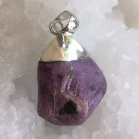 Stichtite Healing Crystal Pendant design by Mark Bajerski