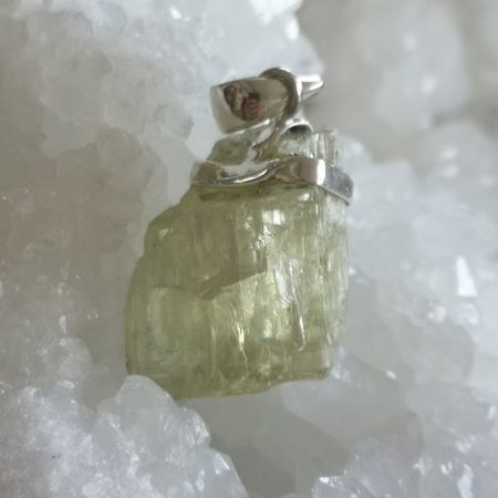 Beryl Healing Crystal Pendant design by Mark Bajerski
