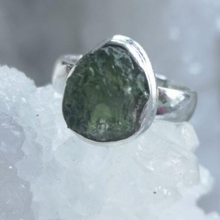 Moldavite Healing Crystal Pendant US 6