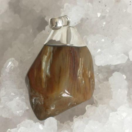 Amphibole Healing Crystal Pendant by Mark Bajerski
