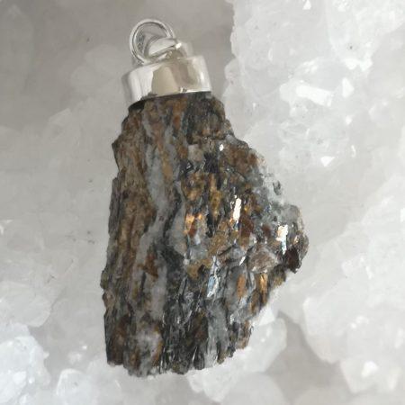 Astrophyllite Healing Crystal Pendant by Mark Bajerski